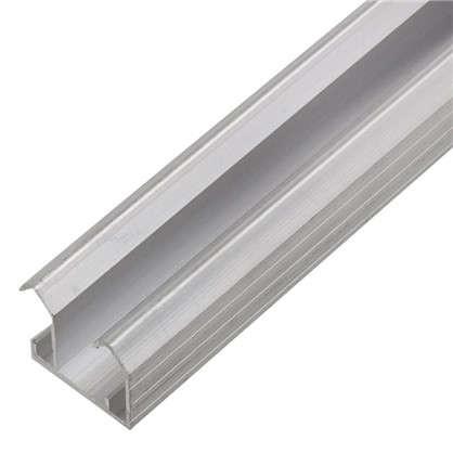 Направляющая для шкафа купе верхняя MC-L90-B 1800 мм нагрузка до 45 кг алюминий цена