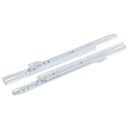 Направляющие роликовые Boyard DS01W.1/350 металл цвет белый цена