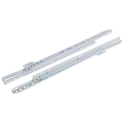 Направляющие роликовые Boyard DS01W.1/400 металл цвет белый цена