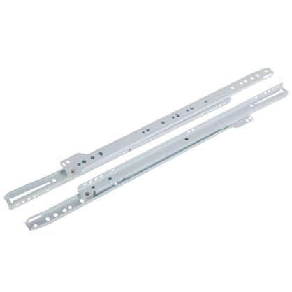 Направляющие роликовые Boyard DS01W.1/450 металл цвет белый цена