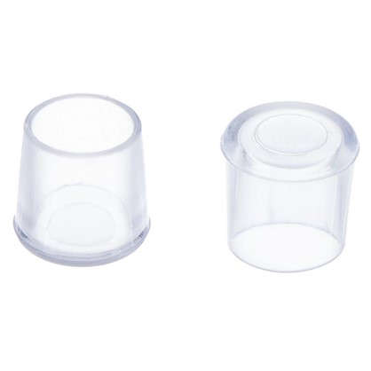 Насадки Standers 14 мм круглые пластик цвет прозрачный  4 шт. цена