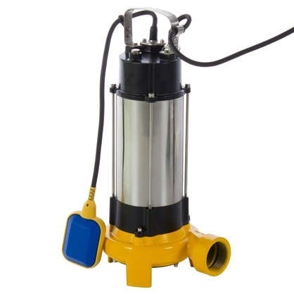 Насос погружной дренажный фекальный DWP 18000 л/час для грязной воды с ножами цена