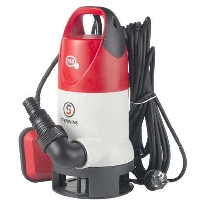 Насос погружной дренажный Sterwins DW-3 13500 л/час для грязной воды цена