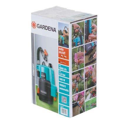 Насос садовый 4000 л/час для полива из бочки Gardena Comfort 4000/2