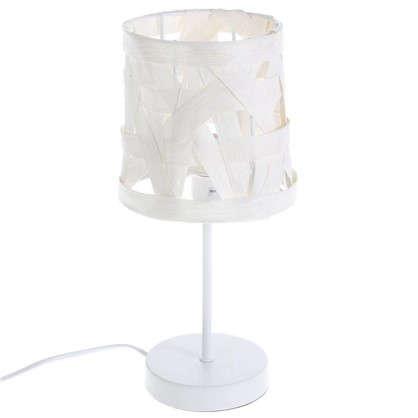 Настольная лампа 15223T 1xE14х40 Вт цвет белый цена