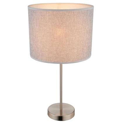 Настольная лампа Globo 15185T1 1xE27х60 Вт цвет бежевый цена