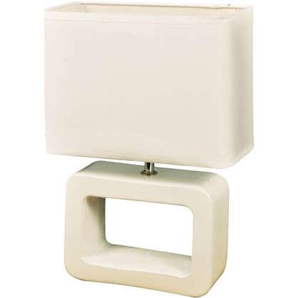 Настольная лампа Ilmari 1xE14х40 Вт цвет белый цена