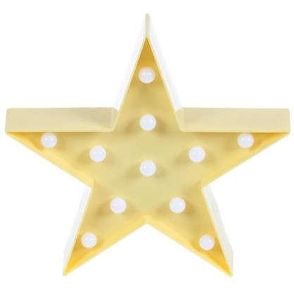 Ночник светодиодный Звездочка 3 Вт 250 Лм свет теплый белый цена