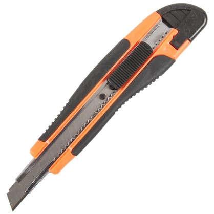 Нож 9 мм двухкомпонентная ручка цена