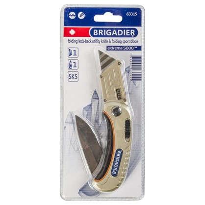 Нож многофункциональный универсальный Brigadier Extrema 2 лезвия