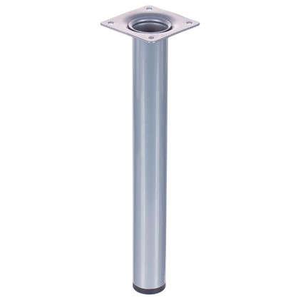 Ножка круглая 30х250 мм цвет серый цена