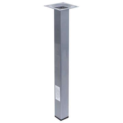Ножка квадратная 300х25х25 мм цвет серый цена