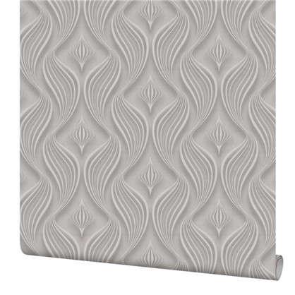 Обои Абстракция ПАPL71201-44 флизелиновые цвет серый 1.06х10 м цена