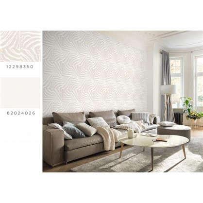 Обои Inspire Carolyn виниловые на флизелиновой основе цвет белый 1.06x10 м цена