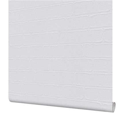 Обои под покраску Твин Брик флизелиновые цвет белый 0.53х12.5 м