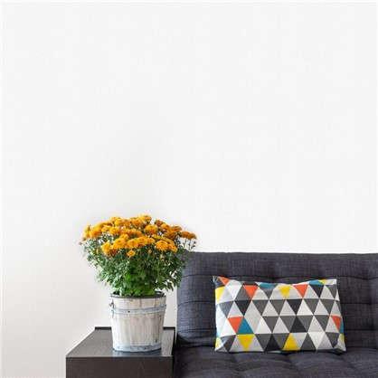 Обои Рогожка на флизелиновой основе цвет белый 1.06х25 м