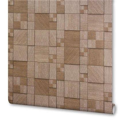 Обои Wood 984056 виниловые на флизелиновой основе цвет орех 1.06x10 м цена
