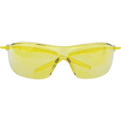 Очки защитные незапотевающие желтые Krafter