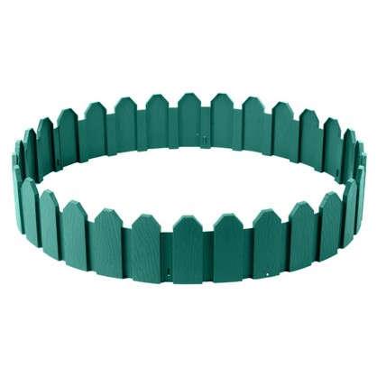 Ограждение садовое декоративное Дачник 3 м цвет зелёный цена