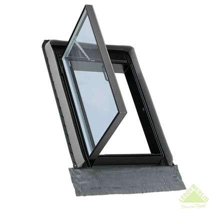 Окно-люк Велюкс ПВХ/алюминий 54x83 см