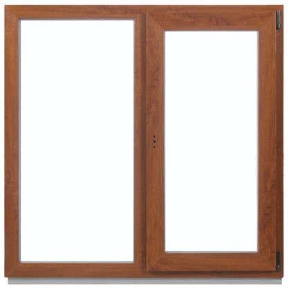 Окно ПВХ двухстворчатое 120x100 см глухое/поворотно-откидное правое цена