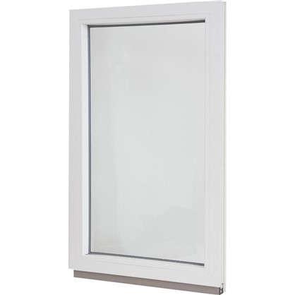 Окно ПВХ одностворчатое 100х60 см глухое цена