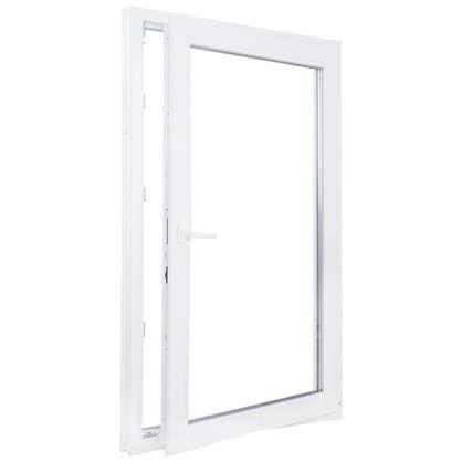 Окно ПВХ одностворчатое 120х100 см поворотное правое цена