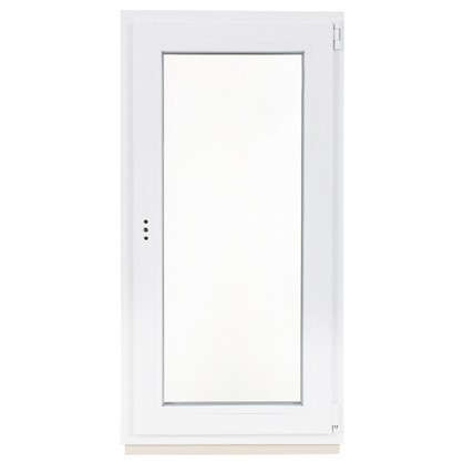Окно ПВХ одностворчатое 120х60 см поворотно-откидное правое цена