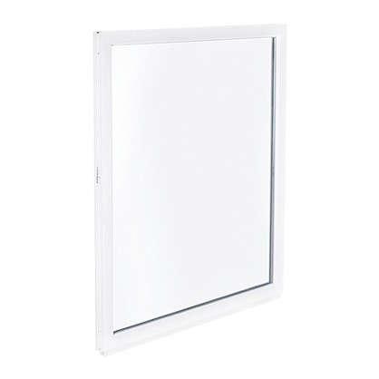 Окно ПВХ одностворчатое 120х80 см глухое цена