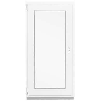 Окно ПВХ одностворчатое 120x60 см поворотно-откидное левое цена
