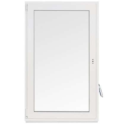 Окно ПВХ одностворчатое 144х87 см поворотно-откидное левое цена