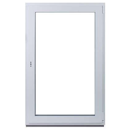 Окно ПВХ одностворчатое 144х87 см поворотно-откидное правое цена