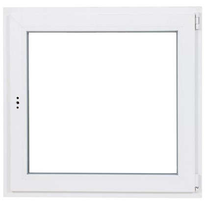 Окно ПВХ одностворчатое 90х90 поворотно-откидное правое цена