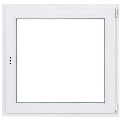 Окно ПВХ одностворчатое 90х90 поворотно-откидное правое