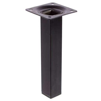 Опора квадратная 150х25х25 мм цвет черный цена