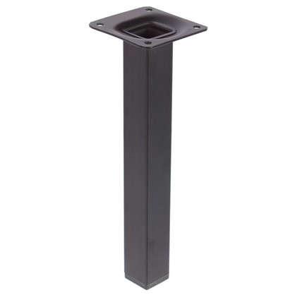 Опора квадратная 25х25х200 мм цвет черный цена