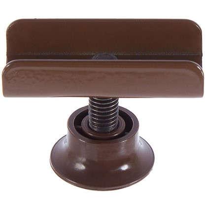 Опора регулируемая М8 под ЛДСП 16 мм цвет коричневый цена