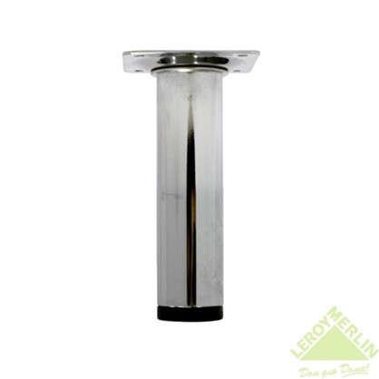 Опора сталь хром круглая высота 100 мм d30 мм цена