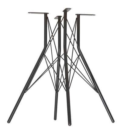 Основание для стола Sheffilton SHT-TU2-1 цвет черный муар цена