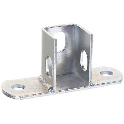 Основание потолочной стойки под профиль 120x40x4 мм сталь цена