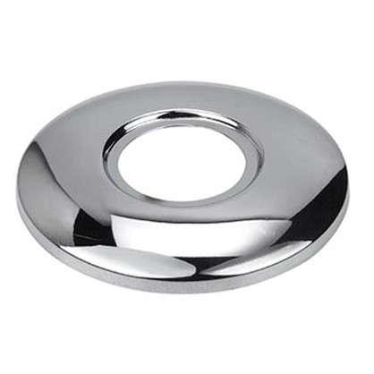 Отражатель для полотенцесушителя неглубокий 1 полированная нержавеющая сталь