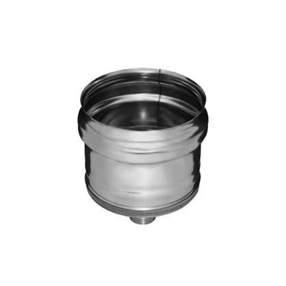 Отвод конденсанта для трубы 430/0.5 мм D110 мм цена
