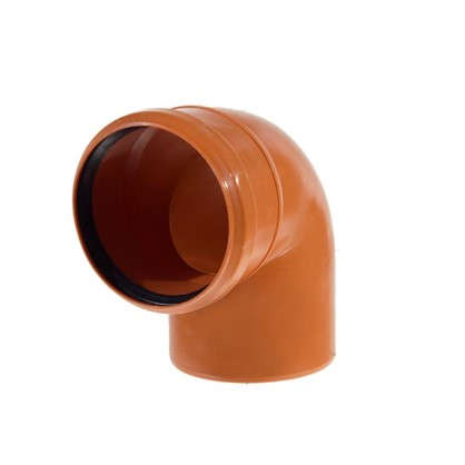 Отвод наружный 87° 110 мм цена