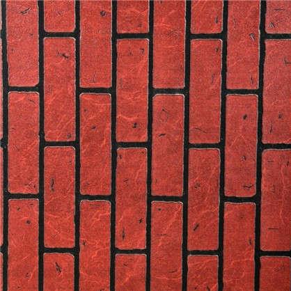 Панель Кирпич Красный обожжёный 2440x1220x4 мм 2.98 м2