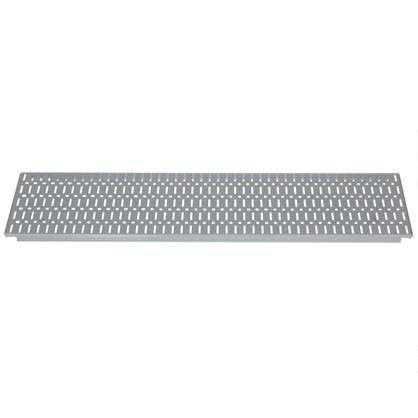 Панель перфорированная 890x155 мм цвет серый цена