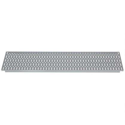 Панель перфорированная Larvij 585x155 мм цвет серый цена