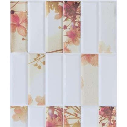 Панель ПВХ Цветы 955х480 мм 0.46 м2 цена
