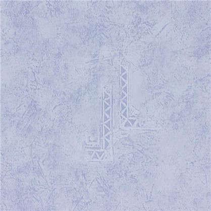 Панель ПВХ VENTA Родос 8x375x2600 мм цвет голубой