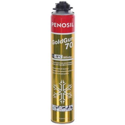 Пена монтажная профессиональная Penosil Goldgun 880 мл цена