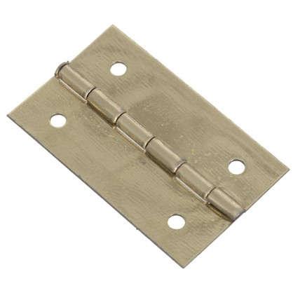 Петля накладная для шкатулки 18х30х0.5 мм металл цвет латунь 4 шт. цена